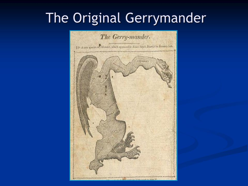 The Original Gerrymander