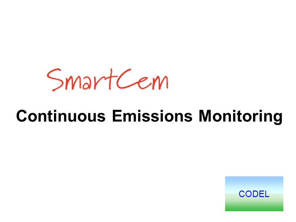CODEL Continuous Emissions Monitoring