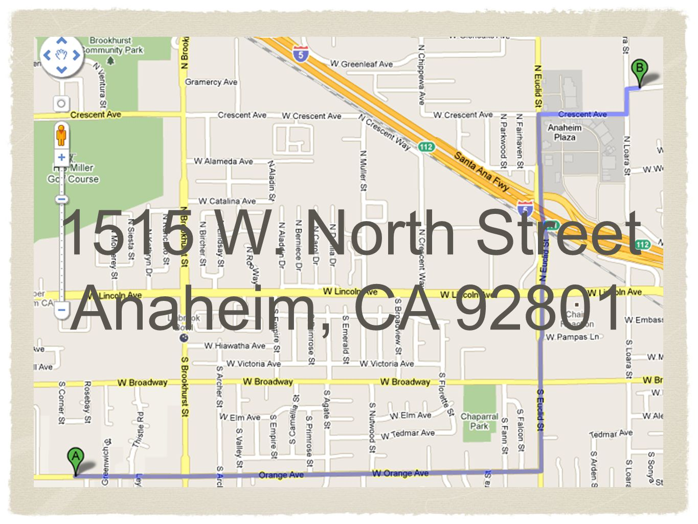 1515 W. North Street Anaheim, CA 92801