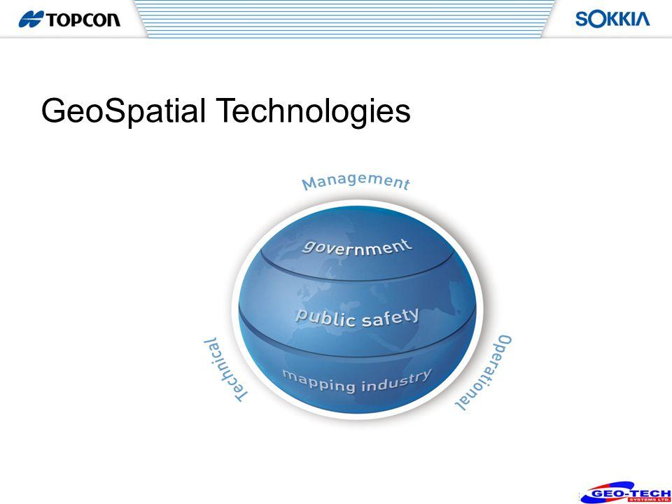 2 GeoSpatial Technologies