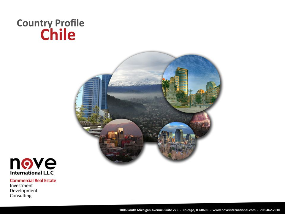 Other Opportunities Chile Logistic Centers Residential Medical Office Buildings