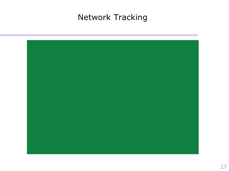 17 Network Tracking