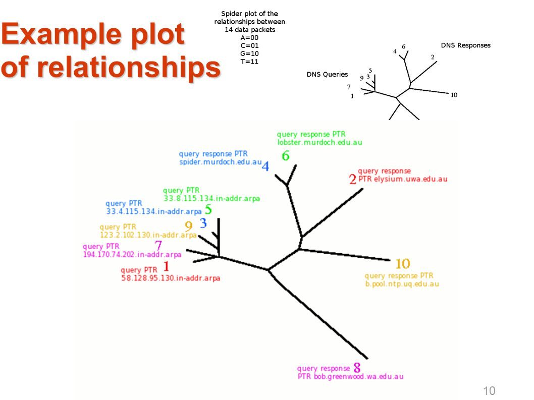 Example plot of relationships 10