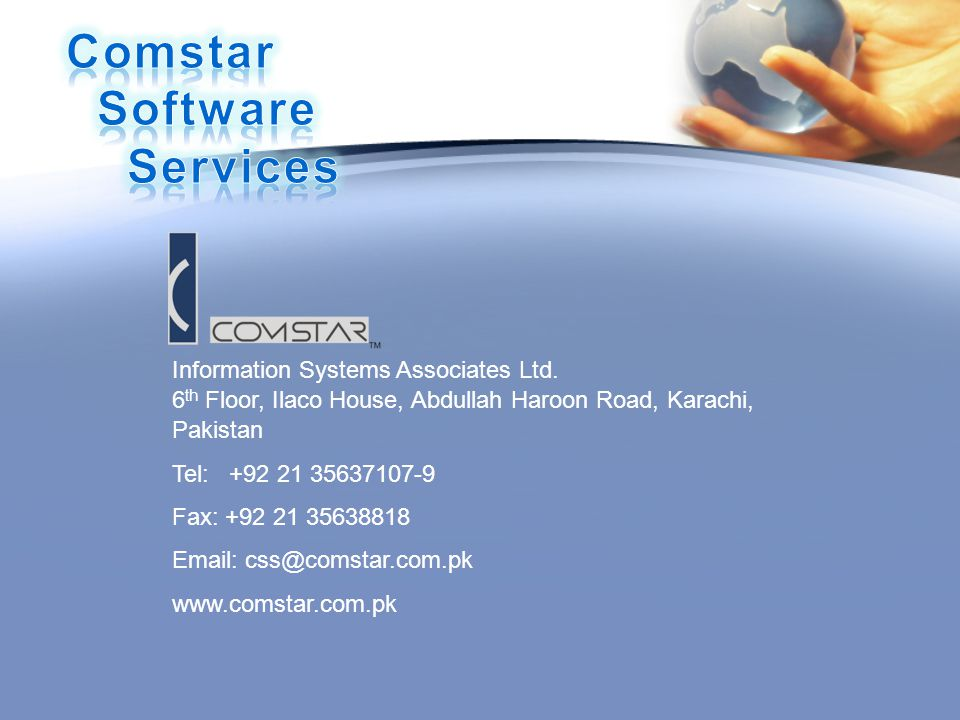 Information Systems Associates Ltd.