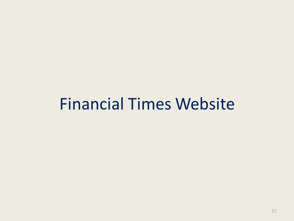 Financial Times Website 51