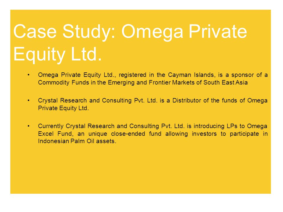 Case Study: Omega Private Equity Ltd.