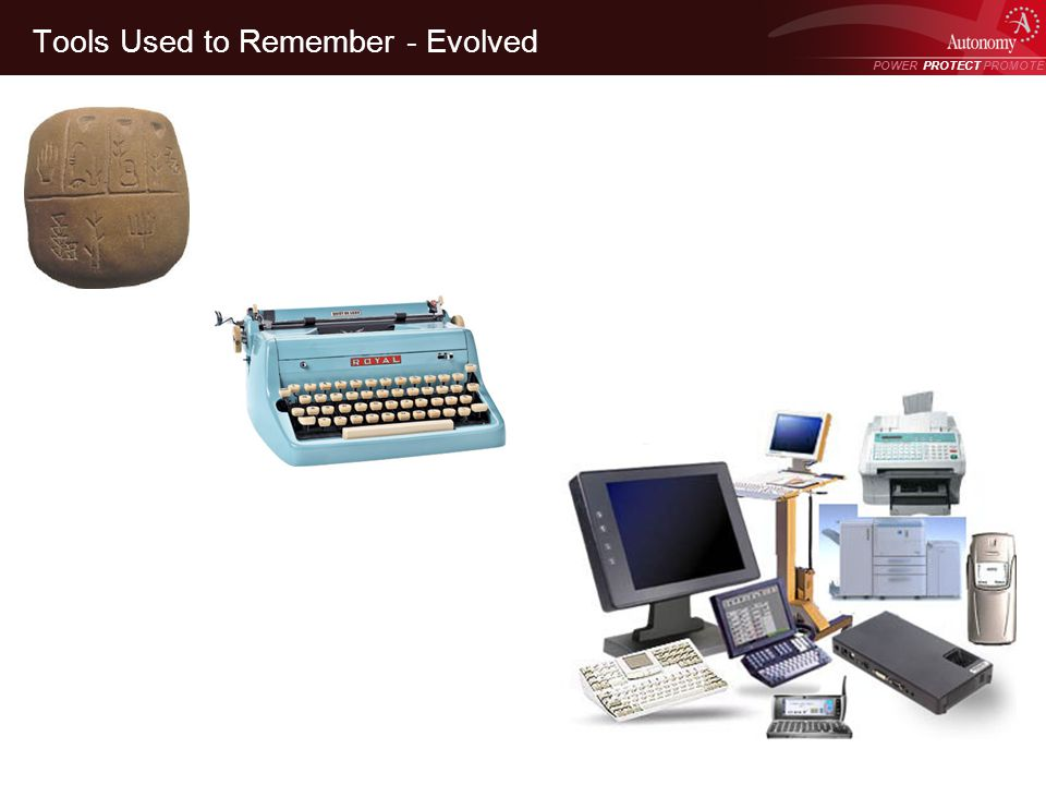POWER PROTECT PROMOTE Power Protect Promote Tools Used to Remember - Evolved