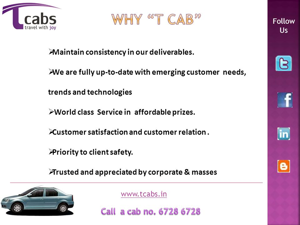 Operating system All cabs are technically supported by GPRS system.