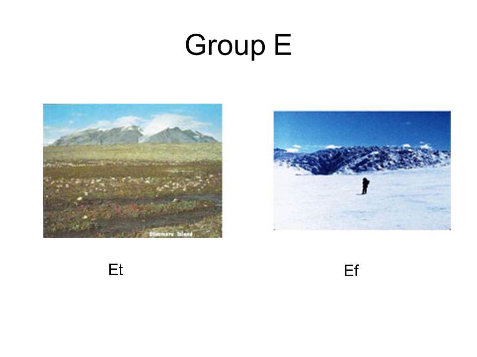 Group E Et Ef