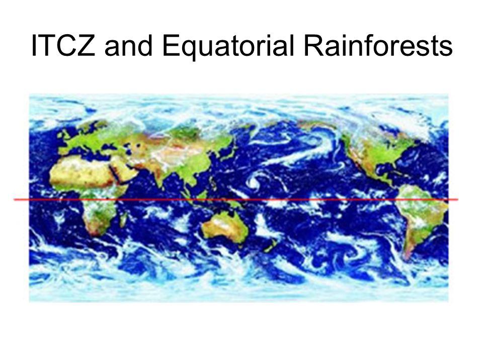 ITCZ and Equatorial Rainforests