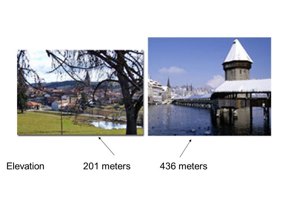 201 meters436 metersElevation