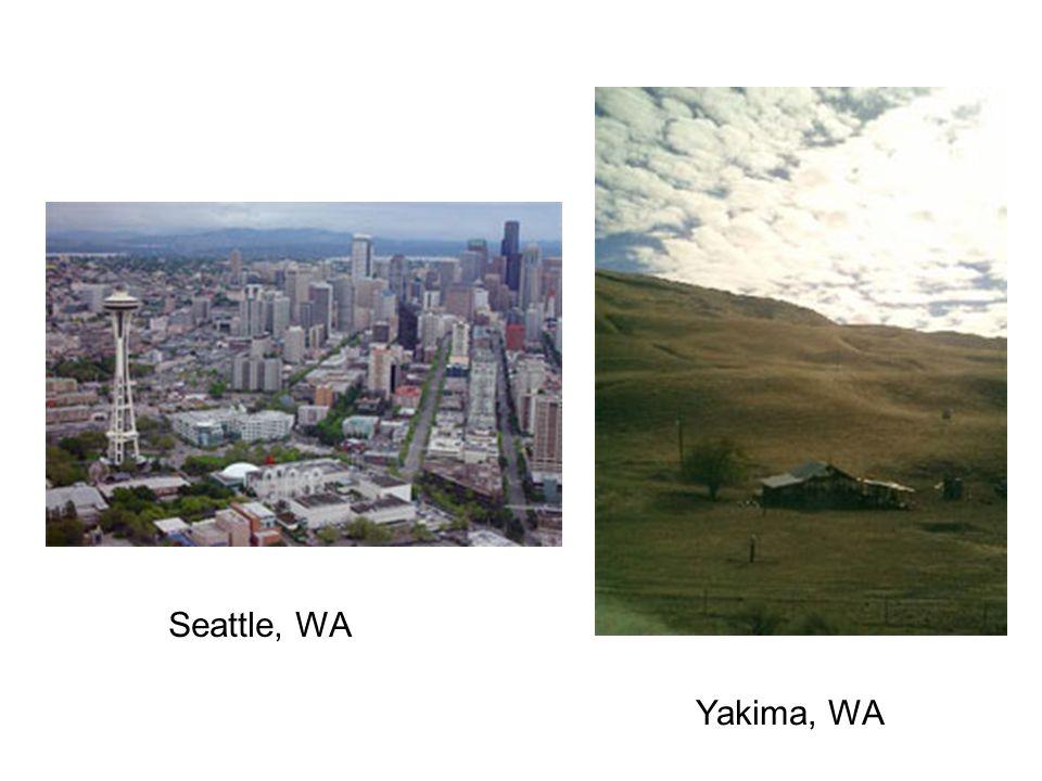 Seattle, WA Yakima, WA