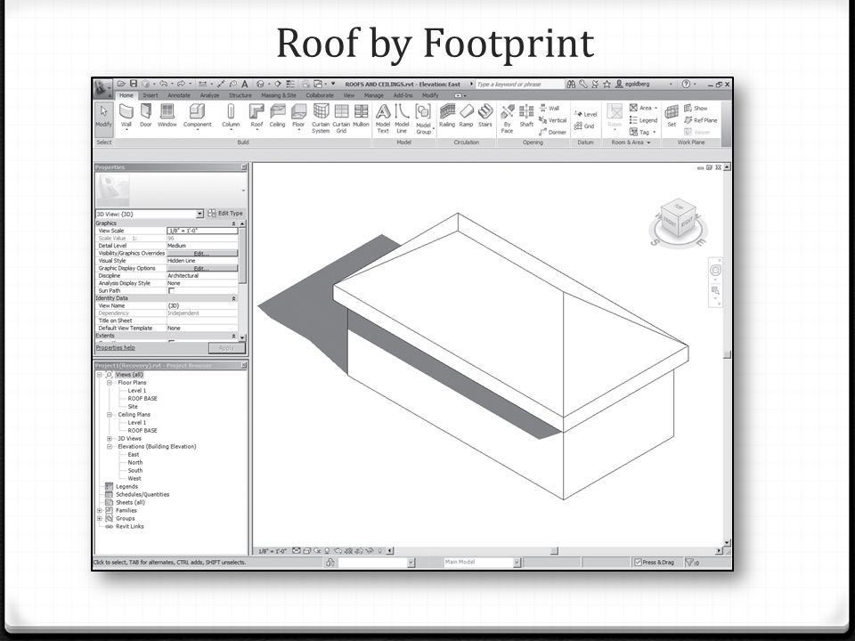 Roof by Footprint