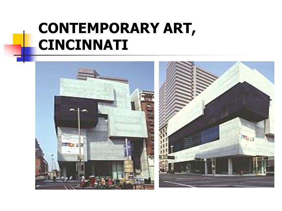CONTEMPORARY ART, CINCINNATI