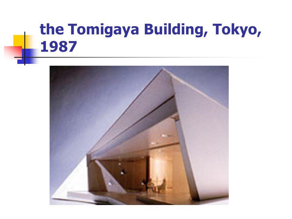 the Tomigaya Building, Tokyo, 1987