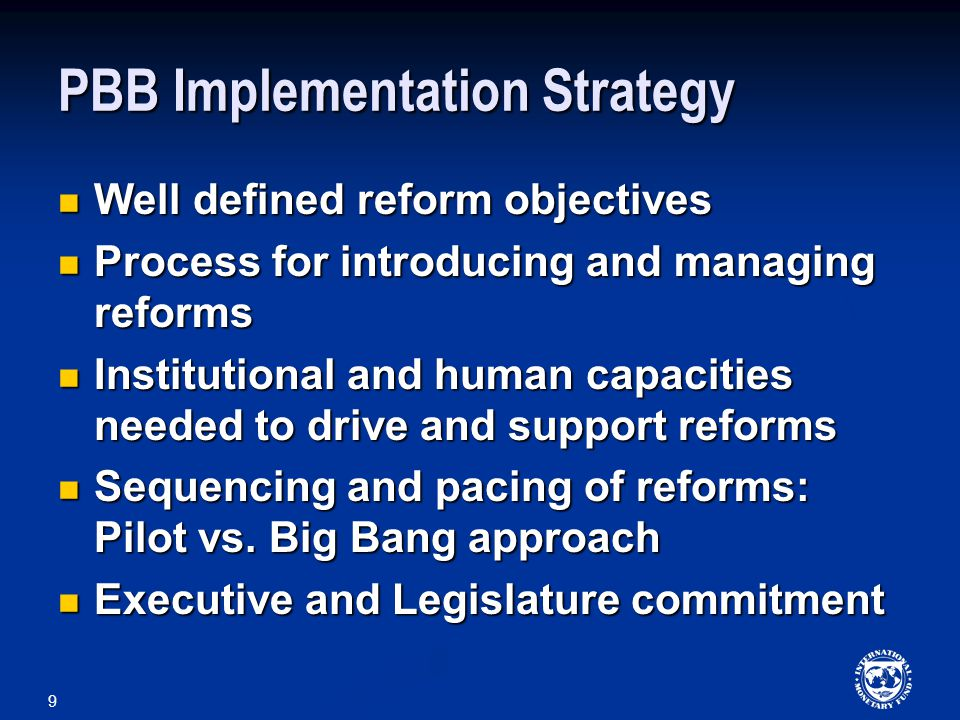 20 Program Budgeting and MTEF Introduction of a program structure improves the efficiency of MTEF, both in preparing the forecasts and later in detailing out the budget as per the agreed MTEF ceilings Introduction of a program structure improves the efficiency of MTEF, both in preparing the forecasts and later in detailing out the budget as per the agreed MTEF ceilings A credible MTEF could facilitate linking resources to policy objectives and performance – multi-year spending allocations tied with multi-year performance targets A credible MTEF could facilitate linking resources to policy objectives and performance – multi-year spending allocations tied with multi-year performance targets