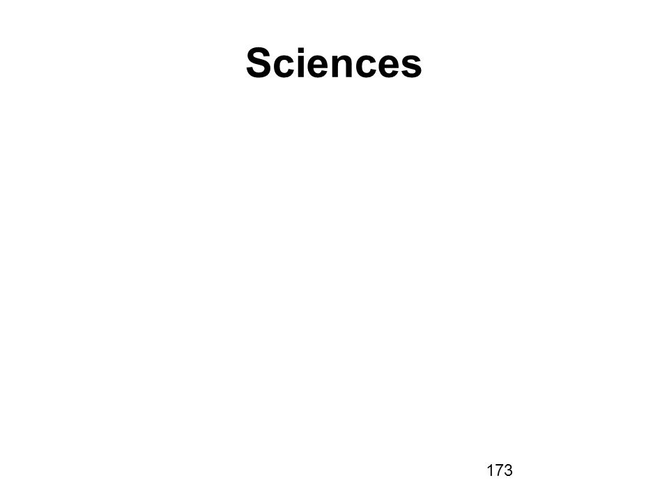 173 Sciences