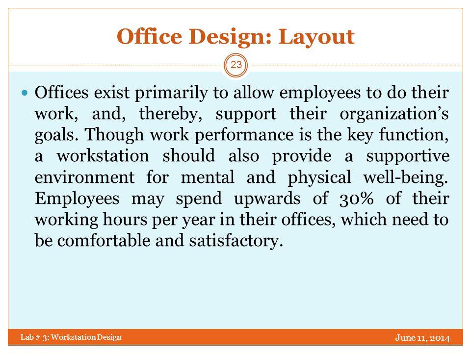DO.DO NOT. June 11, 2014 Lab # 3: Workstation Design Furnish cubicles based on worker job needs.
