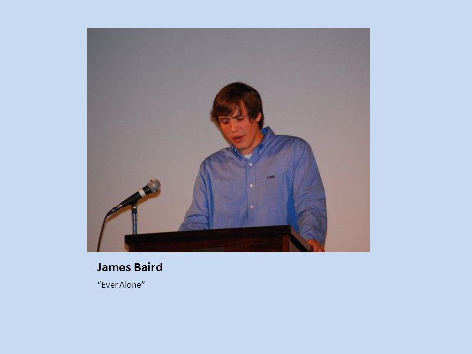 James Baird Ever Alone