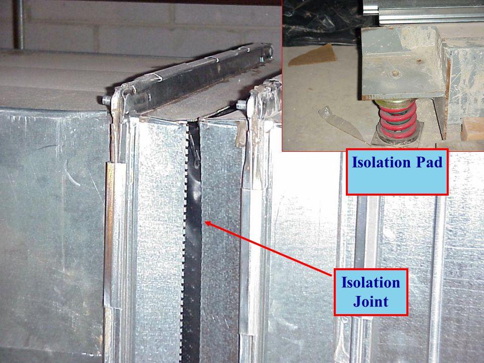 Isolation Joint Isolation Pad