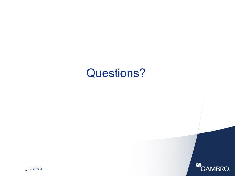 © 306100135 Questions?