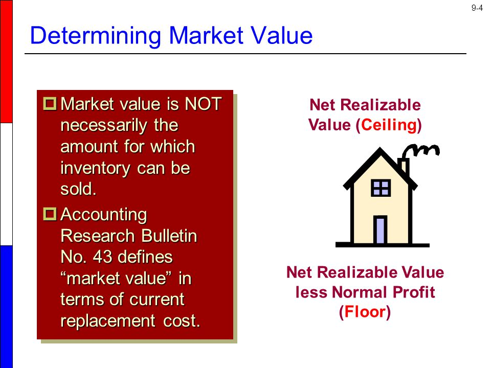 9-25 Steps to the Retail Inventory Method 1.Determine cost and retail value of goods sold.