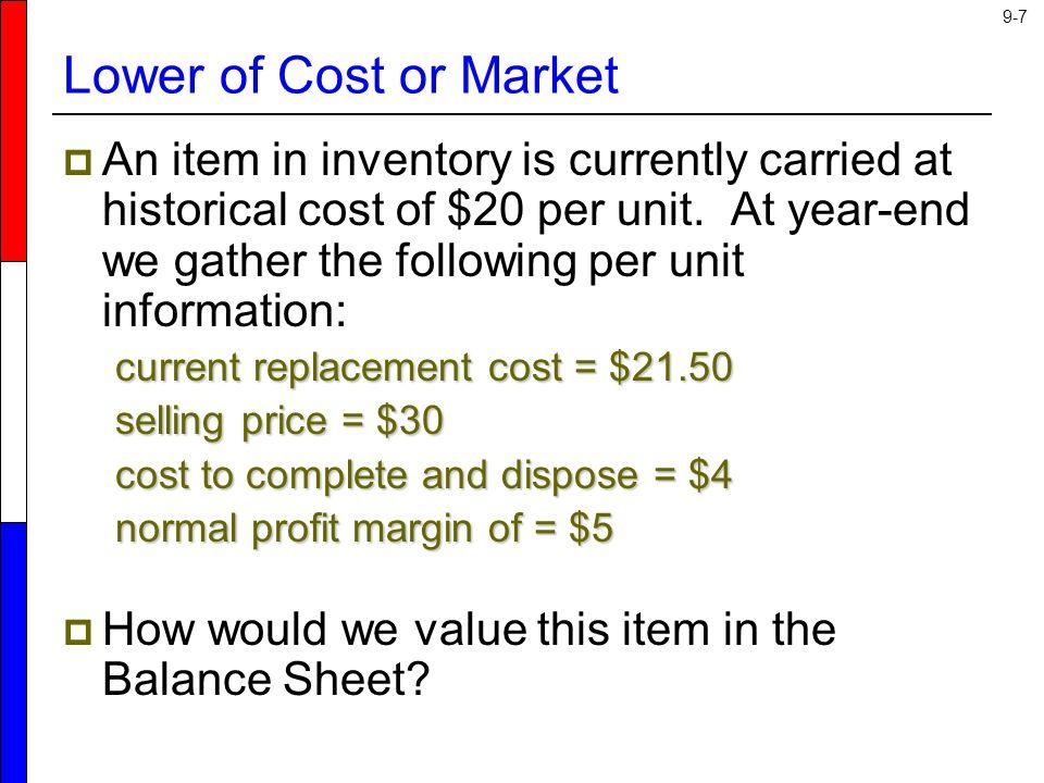 9-28 Retail Inventory Method x