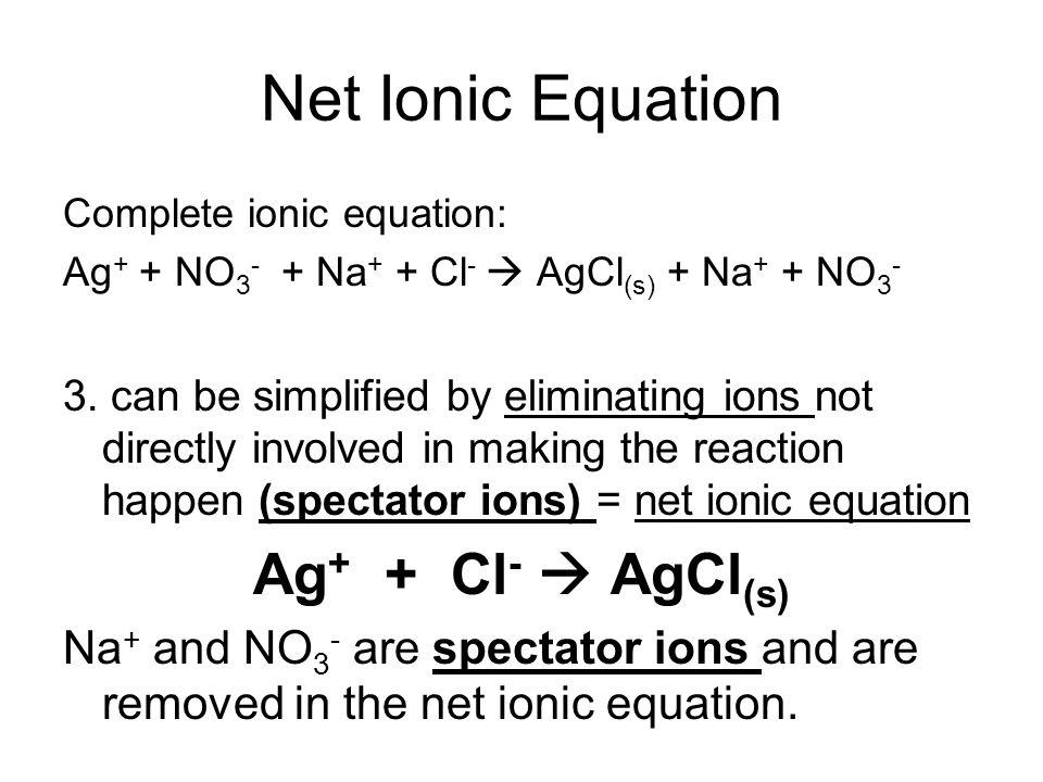 Total And Net Ionic Equations Jennarocca – Writing Net Ionic Equations Worksheet