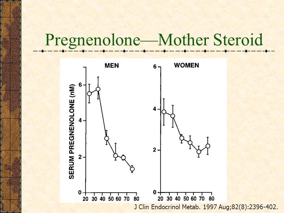 PregnenoloneMother Steroid J Clin Endocrinol Metab. 1997 Aug;82(8):2396-402.