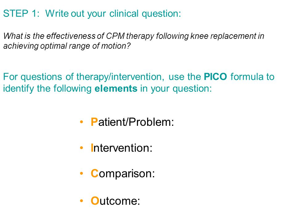 3 What is the effectiveness of CPM therapy following knee replacement in achieving optimal range of motion.