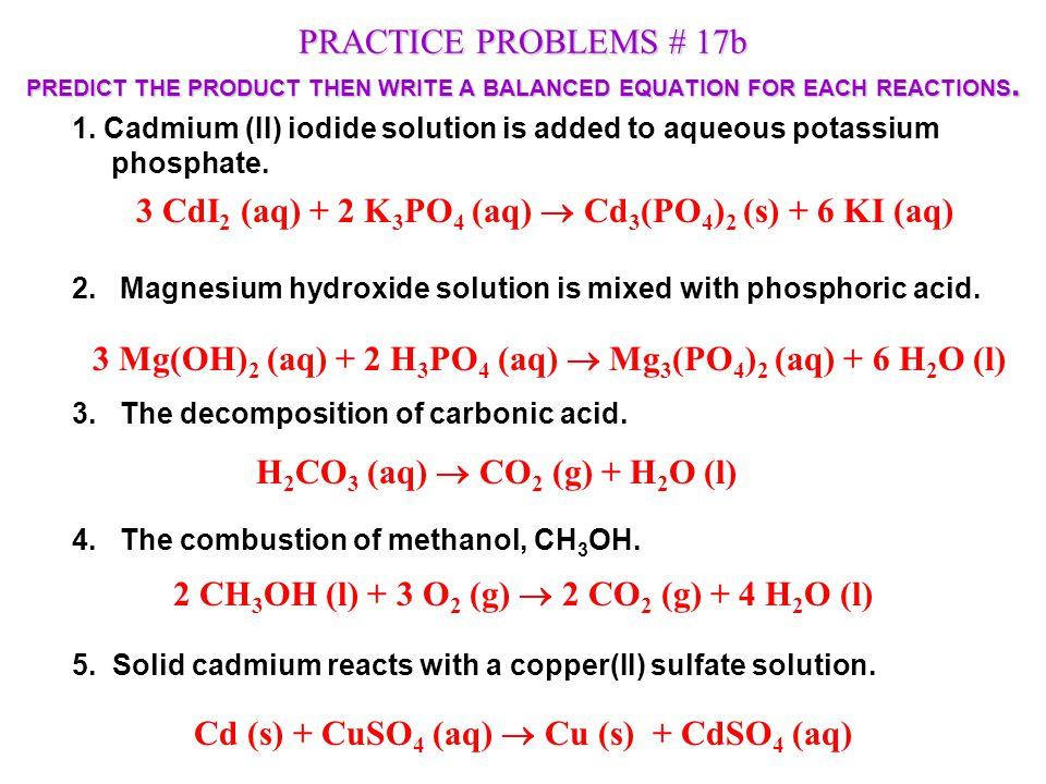 Aluminum Hydroxide Chemical Equation For Aluminum Hydroxide