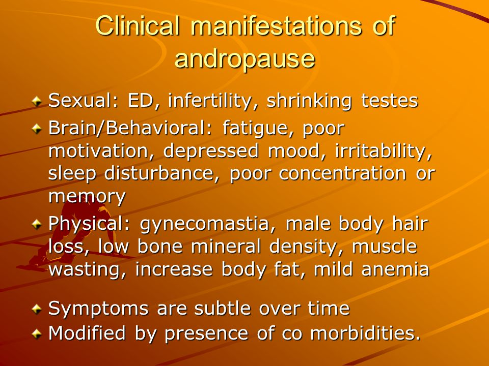 A low testosterone level does not necessarily indicate hypogonadism