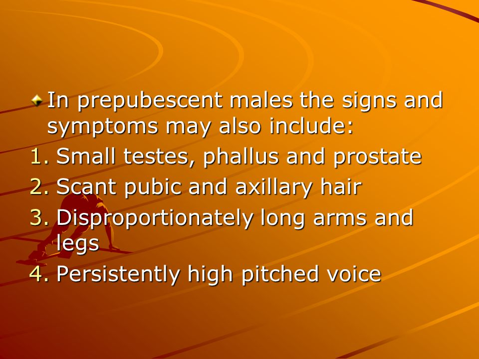 When you have a patient on Testosterone you should monitor him using the following guidelines: