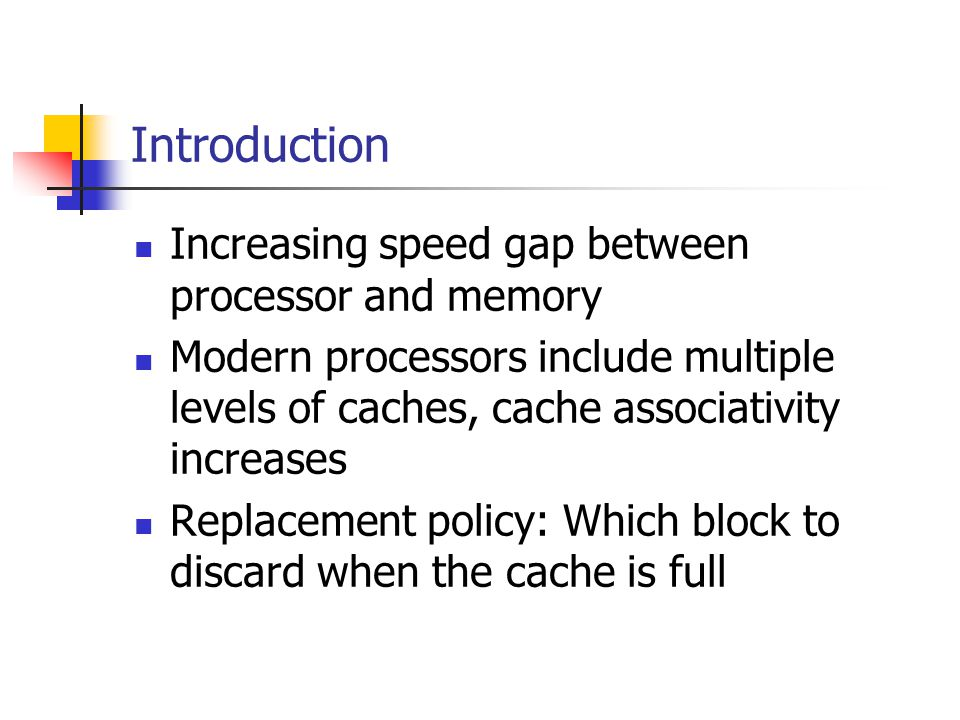 Evaluating cache replacement policies: questions and answers … cont.