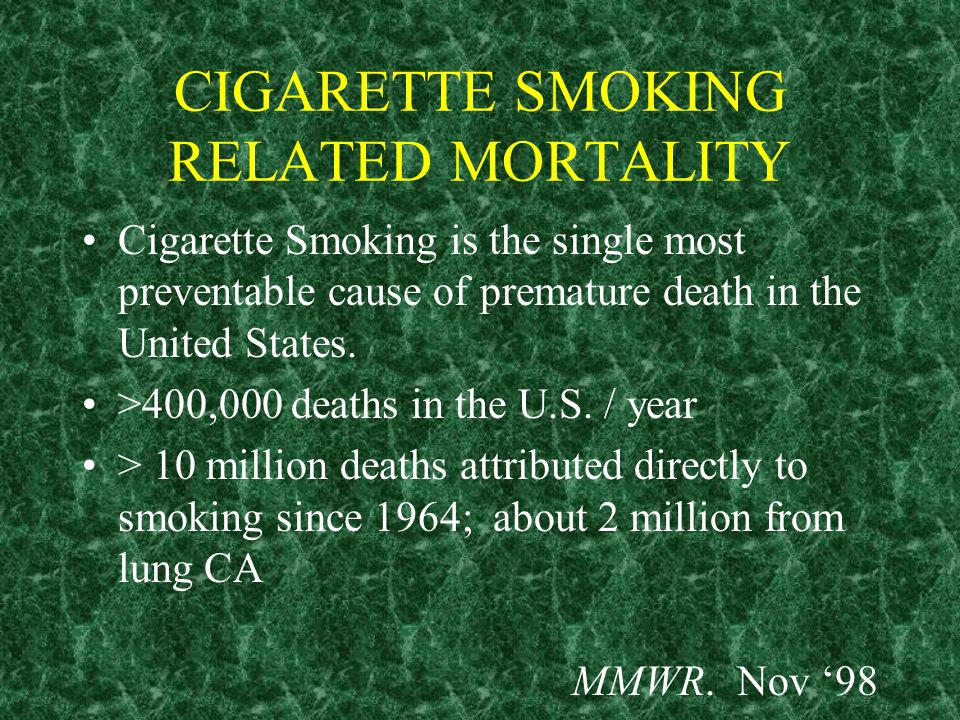NICOTINE REPLACEMENT THERAPY IN SMOKING CESSATION SCOTT SLEDGE, MD FEBRUARY 2, 1999