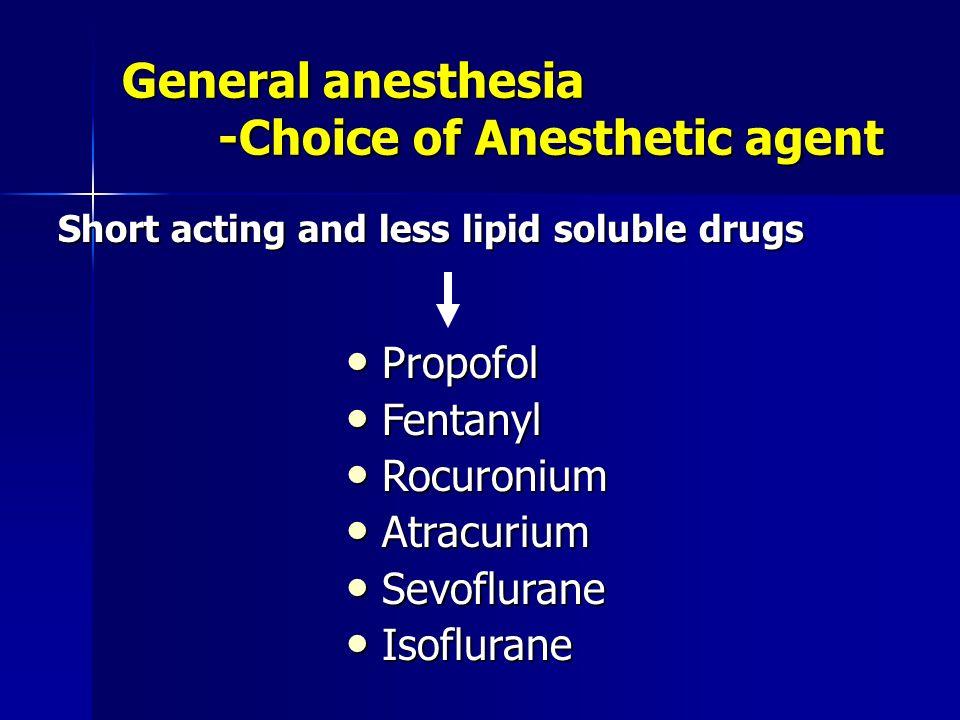 General anesthesia -Pre-Oxygenation 100% Oxygen 100% Oxygen 8 deep breaths 8 deep breaths Oxygen flow 10 L per min Oxygen flow 10 L per min