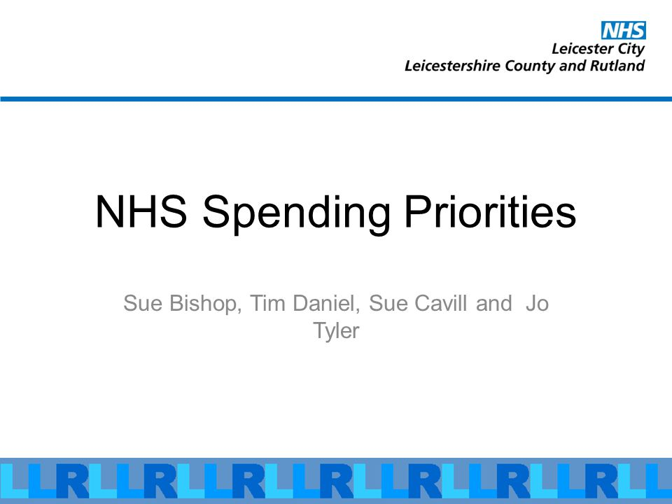 Local NHS has £1,600 to spend per person, per year.