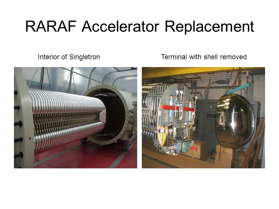 RARAF Accelerator Replacement Interior of SingletronTerminal with shell removed