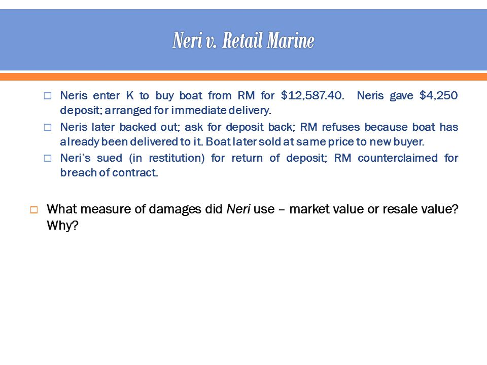 Neris enter K to buy boat from RM for $12,