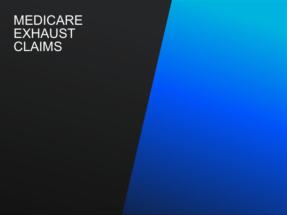 Medicare-Related Institutional Claim FilingMay 2010 5 What Constitutes A Medicare Exhaust Claim – Dually eligible member (Medicare and Medicaid coverage) – IHCP member has exhausted his or her Medicare Part A benefits – Benefits exhaust prior to the admission for an inpatient stay – Medicare Remittance Notification (MRN) or online Florida Shared System (FSS) printout indicating exhaust status must accompany the claim to Medicaid DO NOT BILL THE IHCP FOR PARTIAL INPATIENT STAYS