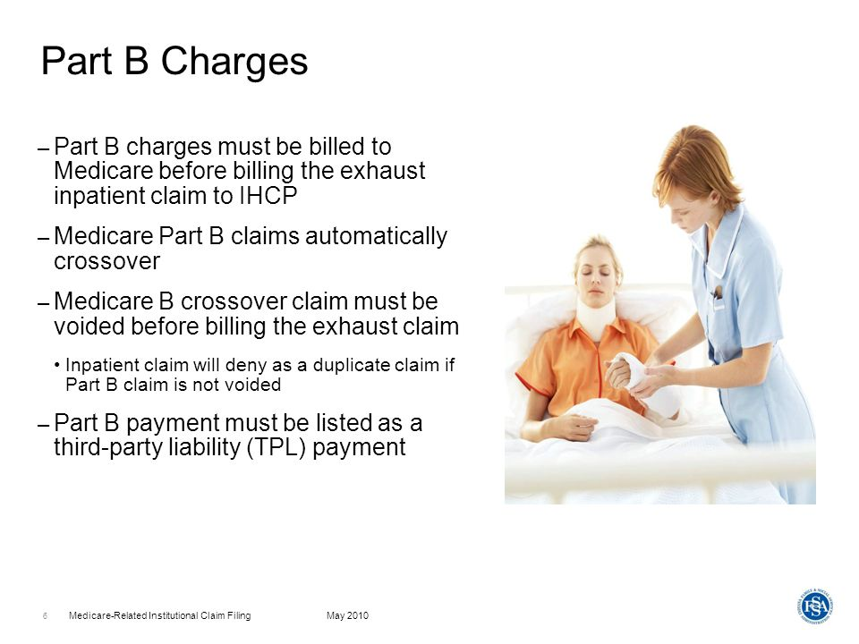 Medicare-Related Institutional Claim FilingMay 2010 7 Electronic Billing Of Medicare Benefit Exhaust Claim.