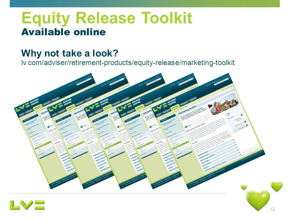 12 Equity Release Toolkit Available online Why not take a look.