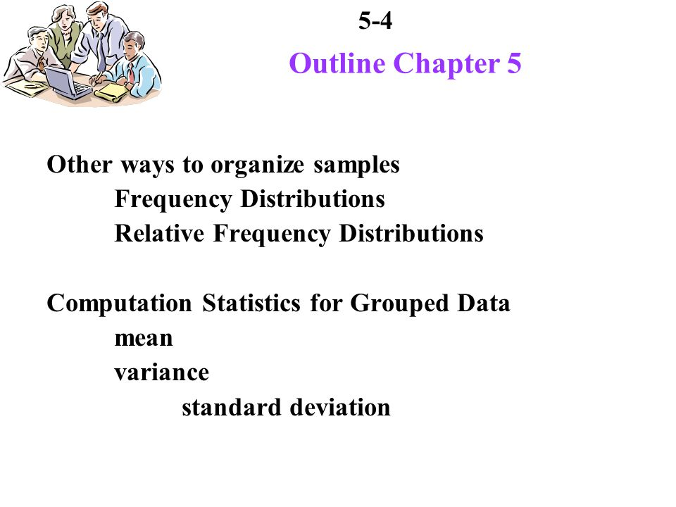 5-15 Mean of Population Means And mean of sampling distribution of means is : This confirms theorem that states: