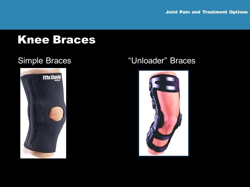 Joint Pain and Treatment Options Knee Braces Simple Braces Unloader Braces