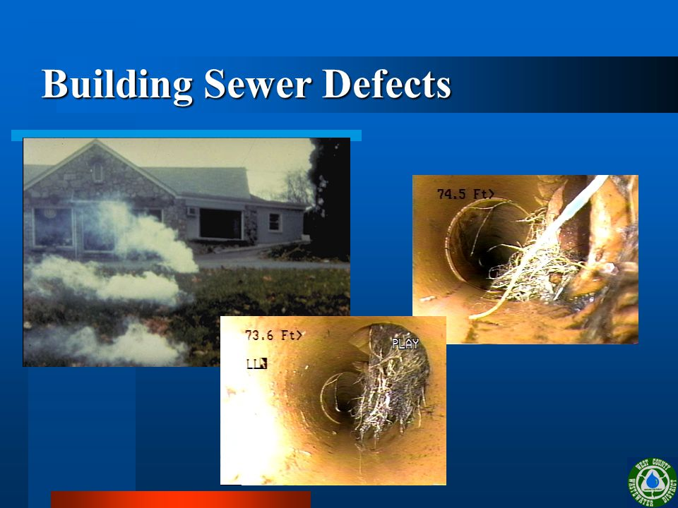 Building Sewer Defects