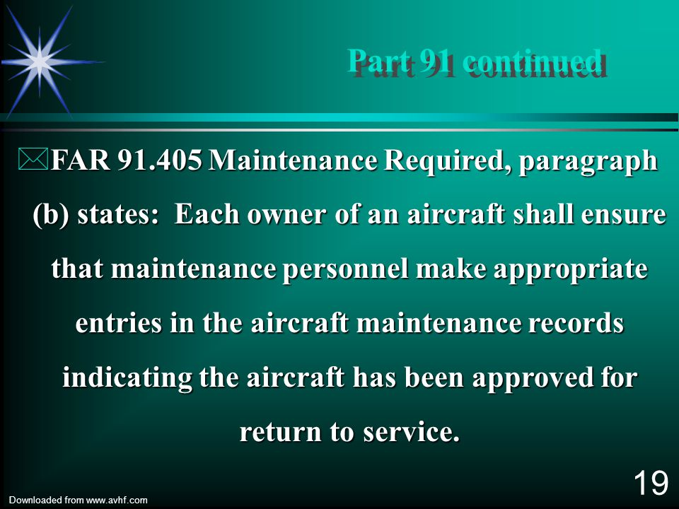 18 Downloaded from www.avhf.com ä Aircraft that have been certificated in the Experimental Category. Did you know................ All U.S. registered