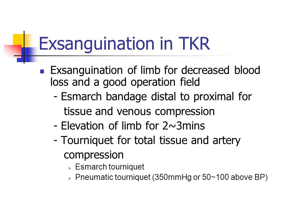 Tourniquet inflation phase Possible pathways of emboli enters IVC Through medullary cavity of femur drainage v.