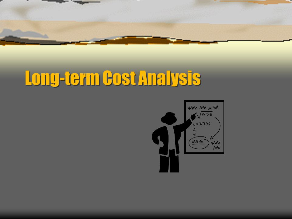 Long-term Cost Analysis