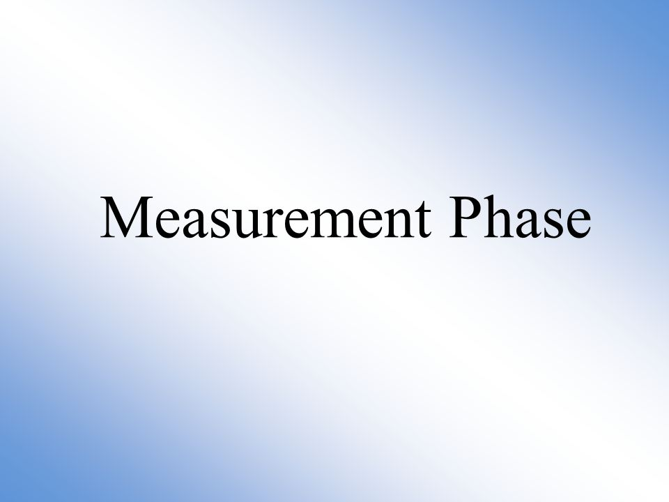 Measurement Phase