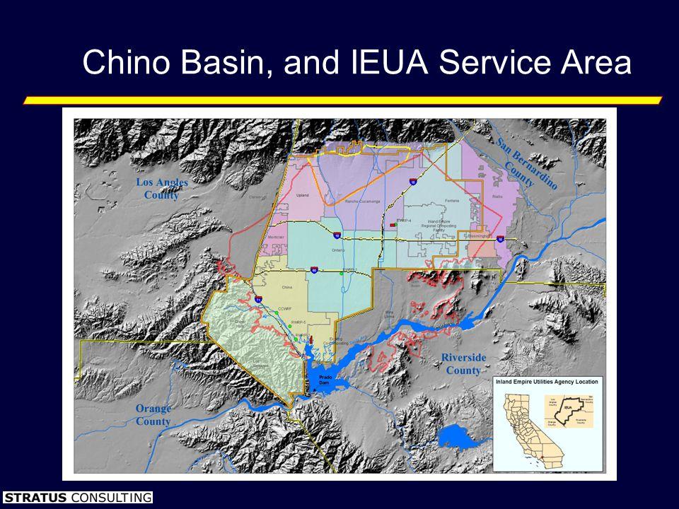 Chino Basin, and IEUA Service Area